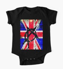 That London Punk Look One Piece - Short Sleeve