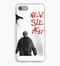 never sleep again  iPhone Case/Skin