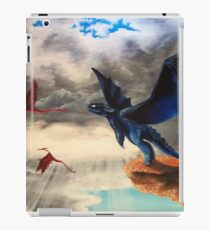 """""""Take Off""""; HTTYD, Toothless Acryl  iPad Case/Skin"""