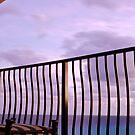 On the Balcony by Deri Dority
