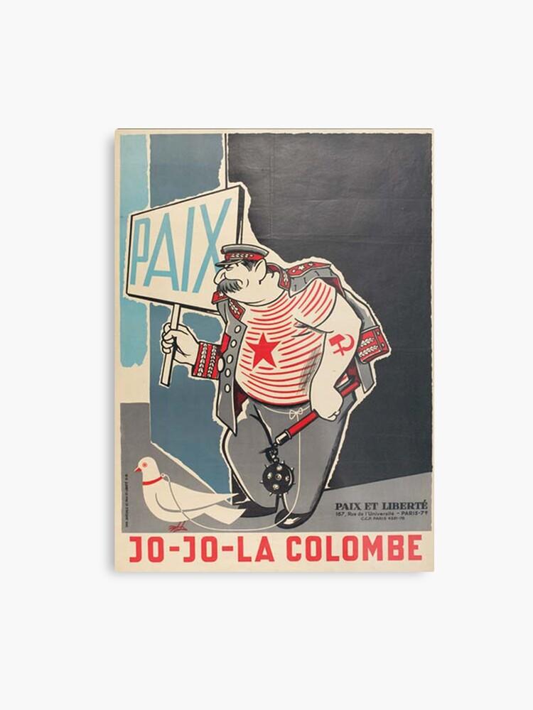 Ussr Propaganda Cold Cccp Print PostersMetal War Union Soviet Y6fy7bg