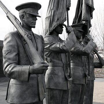 Air Force Memorial Statue Medium Shot by Logan5150