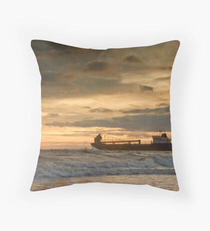 Leaving the Wear Throw Pillow
