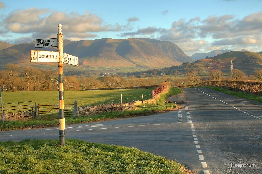 Crossroads in the Vale of Lorton by Roantrum