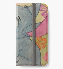 Watercolor Stitch iPhone Wallet/Case/Skin