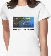Pedal Power Women's Fitted T-Shirt