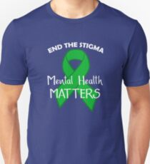 Mental Health Matters Design Unisex T-Shirt