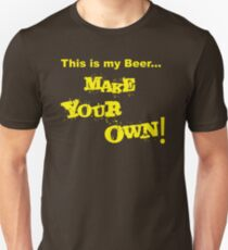 This Is my Beer Make your Own! Slim Fit T-Shirt