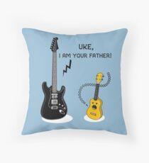 Uke, I am your Father! Throw Pillow