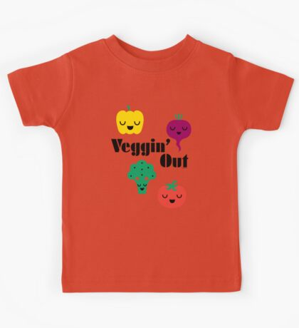 veggin' Out (black type)  Kids Clothes