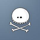 Skull (Card) by Pablo León-Asuero