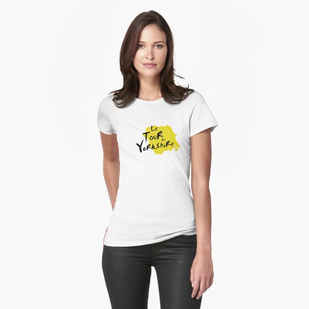 Le Tour de Yorkshire 3 Womens T-Shirt Front