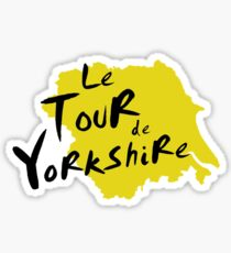 Le Tour de Yorkshire 3 Sticker