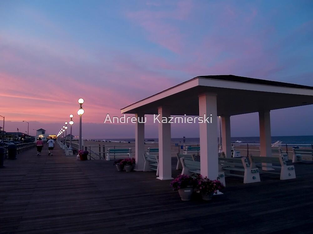 Sunset Boardwalk by andykazie