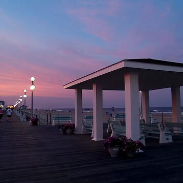 Sunset Boardwalk by andykazie