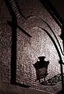 Brugge lamplight by ragman