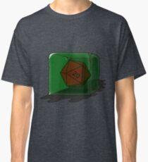 Gelatinous Cube with d20 (D&D) Classic T-Shirt