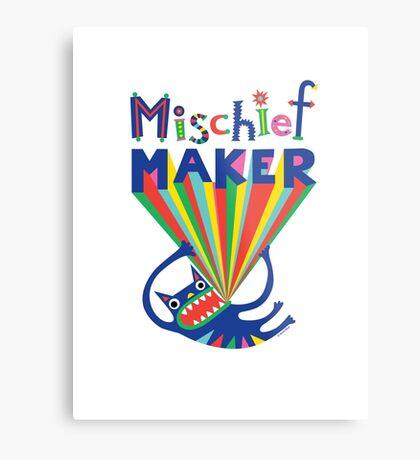 Mischief Maker Metal Print