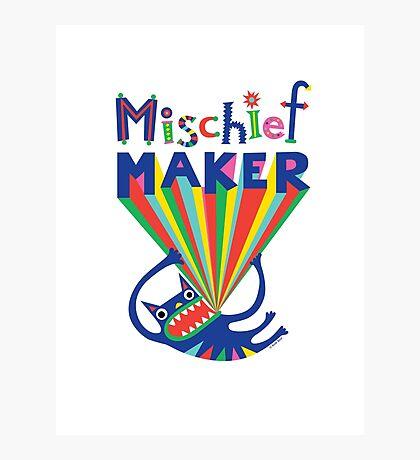 Mischief Maker Photographic Print