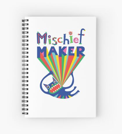 Mischief Maker Spiral Notebook