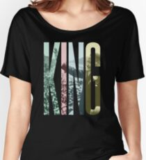 King - Martin Luther King Jr.  Women's Relaxed Fit T-Shirt