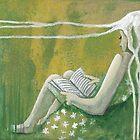 under the reading tree by AnnaAsche