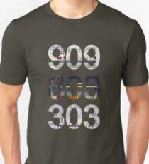 Roland 909 808 303 Classic Synth & Drum Machine Unisex T-Shirt