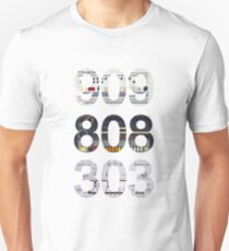 Roland 909 808 303 Classic Synth & Drum Machine Unisex T-Shirt