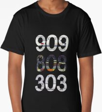 Roland 909 808 303 Classic Synth & Drum Machine Long T-Shirt