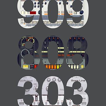 Roland 909 808 303 Classic Synth & Drum Machine by Haxyl