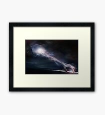 Touching Earth Framed Print