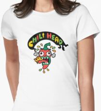 Chili Head    Womens Fitted T-Shirt