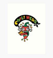 Chili Head    Art Print