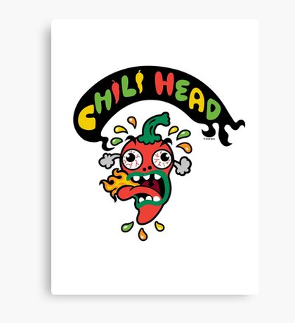 Chili Head    Canvas Print