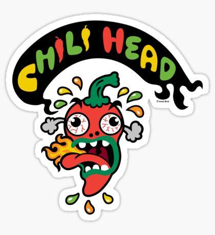 Chili Head    Sticker