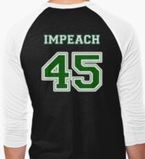 Impeach 45 Men's Baseball ¾ T-Shirt