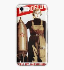 USSR CCCP Cold War Soviet Union Propaganda Posters iPhone Case/Skin