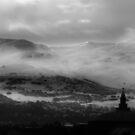 Pentland Hills Snow Storm by Chris Clark