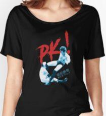 Katsuyori Shibata - PK v2 - RED & BLUE Women's Relaxed Fit T-Shirt