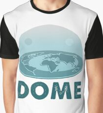 DOME - Flat Earth Designs Graphic T-Shirt