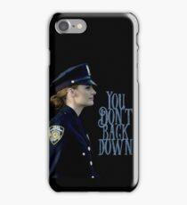 Back down iPhone Case/Skin
