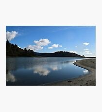 Stone Lagoon, Humboldt Lagoons State Park, California Photographic Print