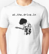 At the Drive-in • Black Unisex T-Shirt
