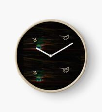 Psychedelic Apaches Into the Sunset Clock