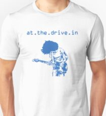 At the Drive-in • Blue Unisex T-Shirt
