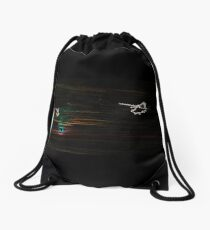 Psychedelic Apaches Into the Sunset Drawstring Bag