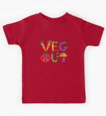 Veg Out - maize Kids Tee