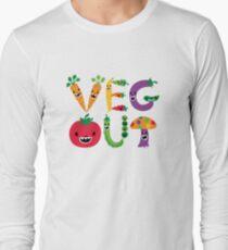 Veg Out - maize Long Sleeve T-Shirt