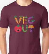 Veg Out - maize Unisex T-Shirt