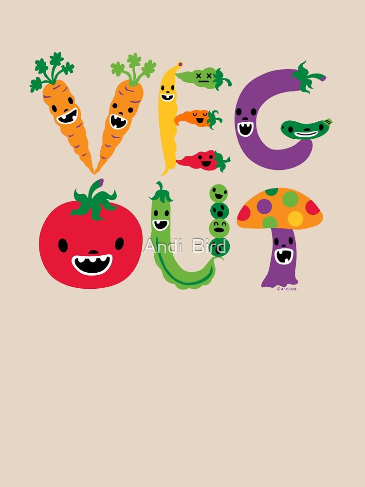 Veg Out - maize by andibird